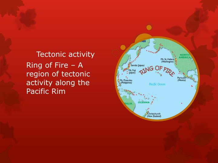 Tectonic activity