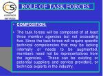 role of task forces1