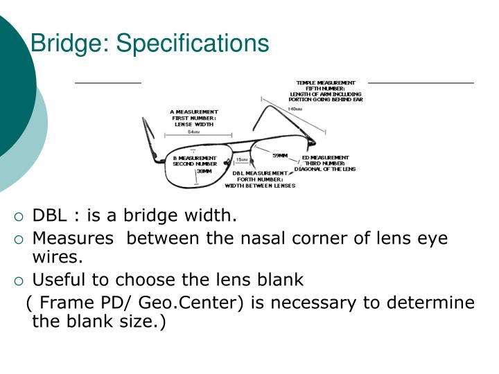 Bridge: Specifications