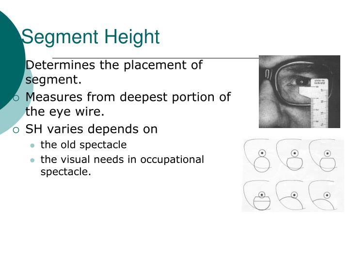 Segment Height