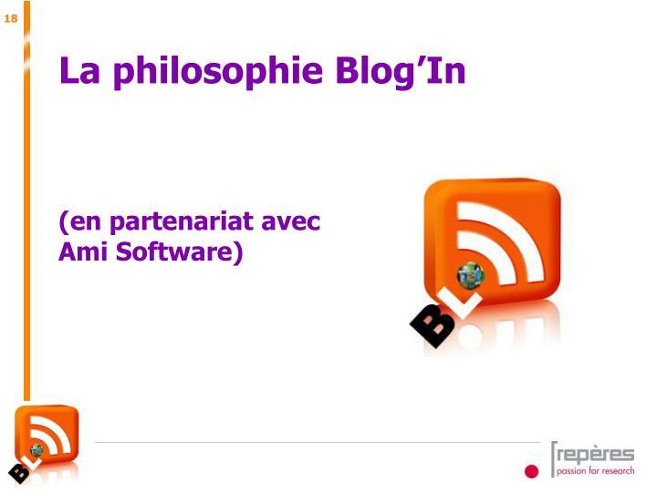 La philosophie Blog'In