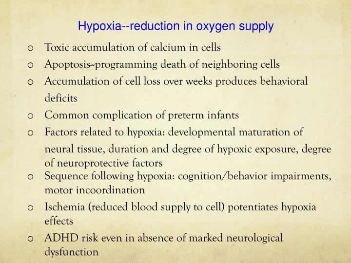 Hypoxia--