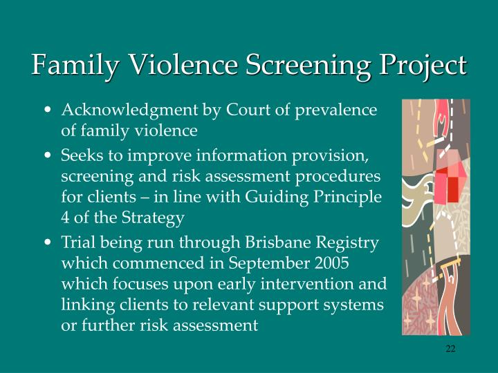 Family Violence Screening Project
