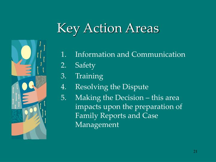 Key Action Areas