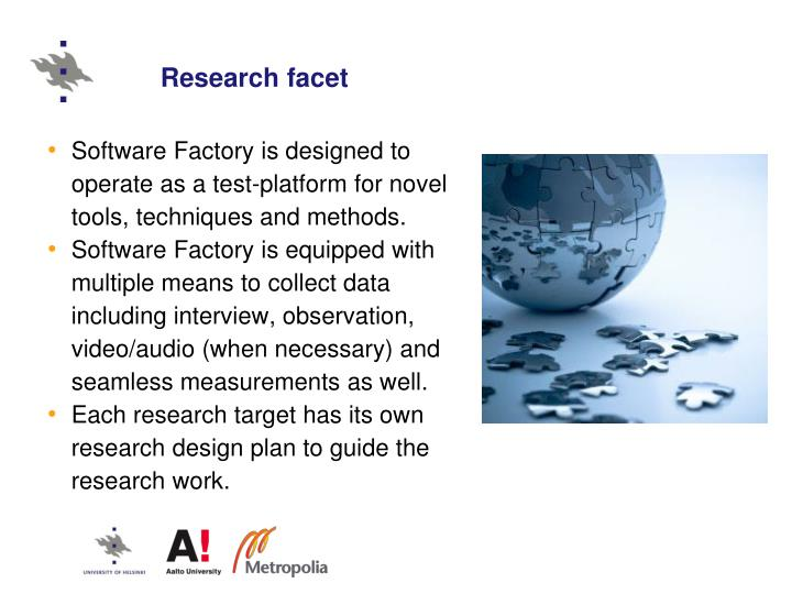 Research facet