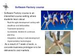 software factory course