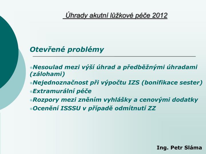 Otevřené problémy