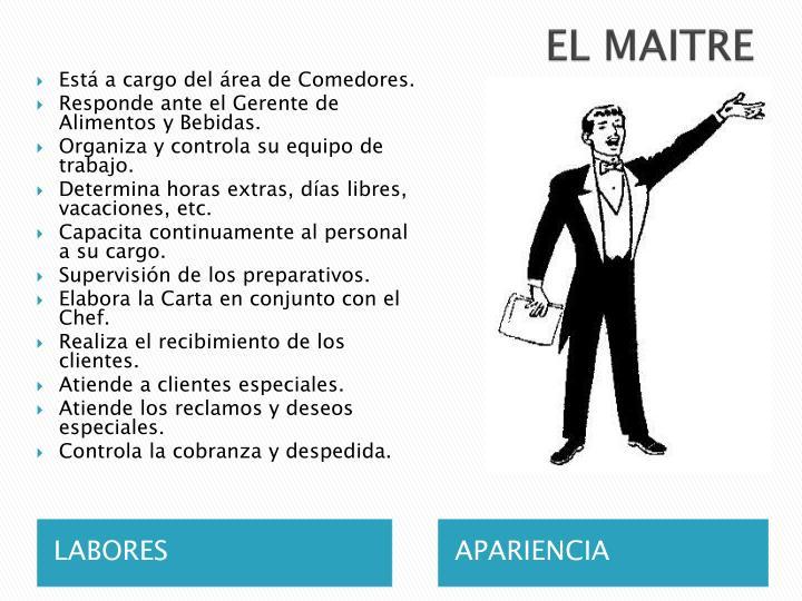 EL MAITRE
