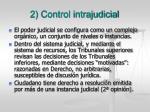 2 control intrajudicial
