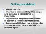d responsabilidad