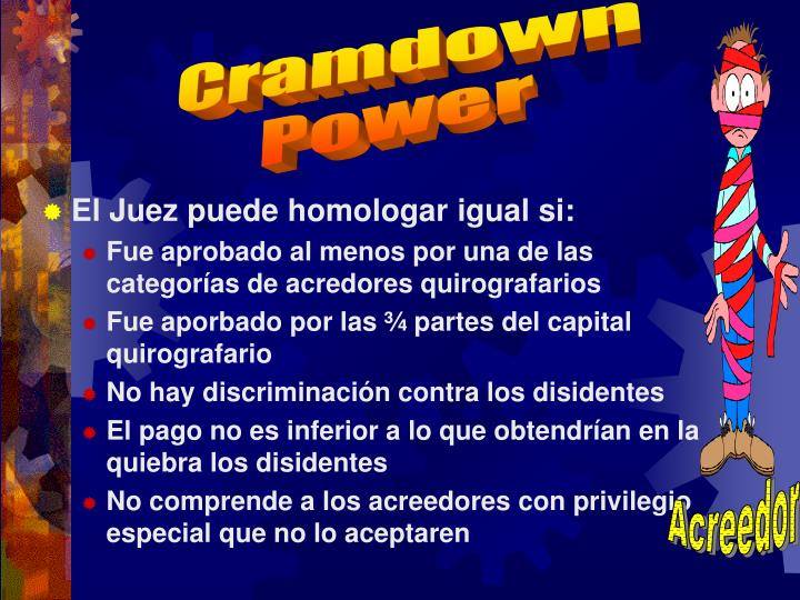 Cramdown
