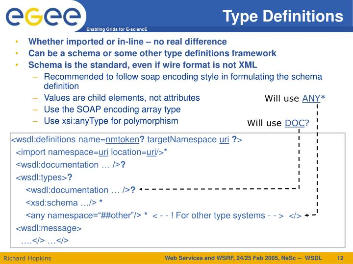 Type Definitions