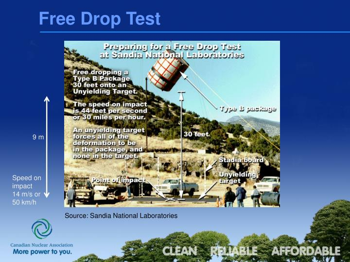 Free Drop Test
