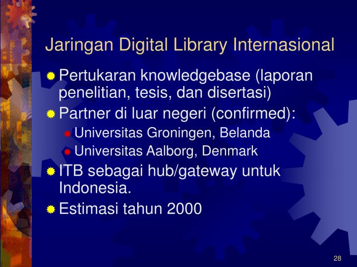 Jaringan Digital Library Internasional