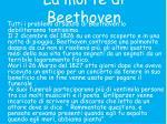 la morte di beethoven