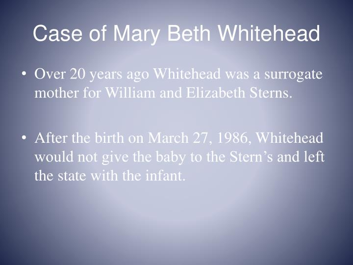 Case of Mary Beth Whitehead