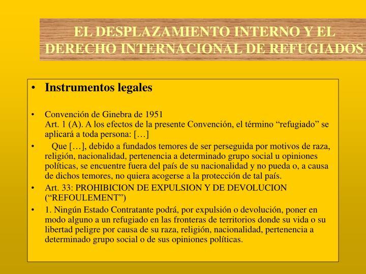 Instrumentos legales