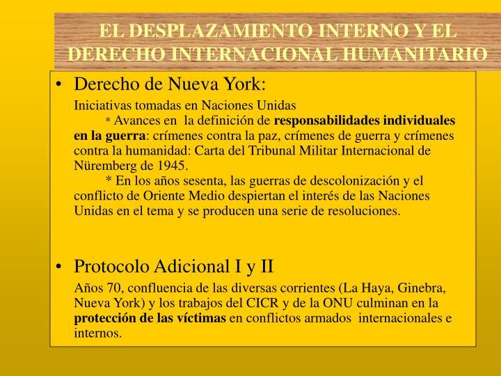 Derecho de Nueva York: