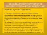 el desplazamiento interno y el derecho internacional humanitario6