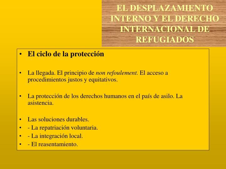 El ciclo de la protección