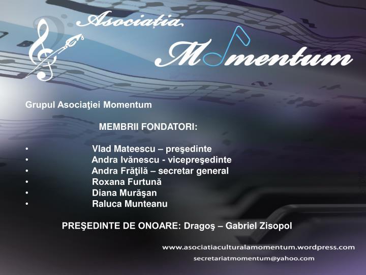 Grupul Asociaţiei Momentum