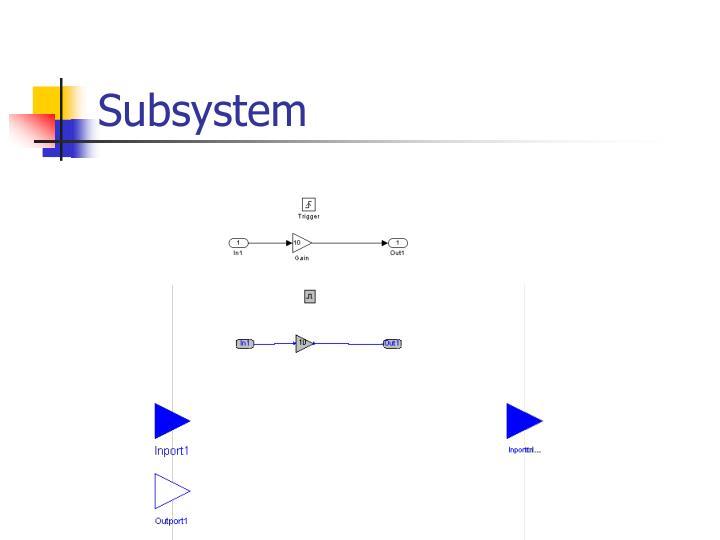 Subsystem