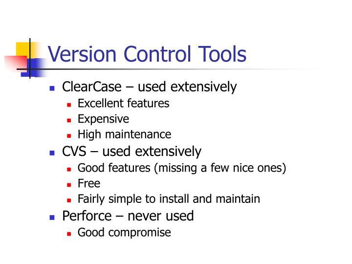 Version Control Tools