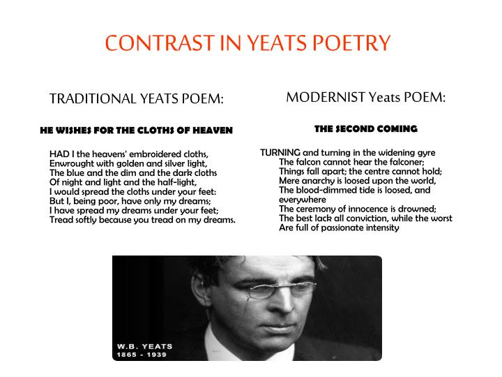 TRADITIONAL YEATS POEM: