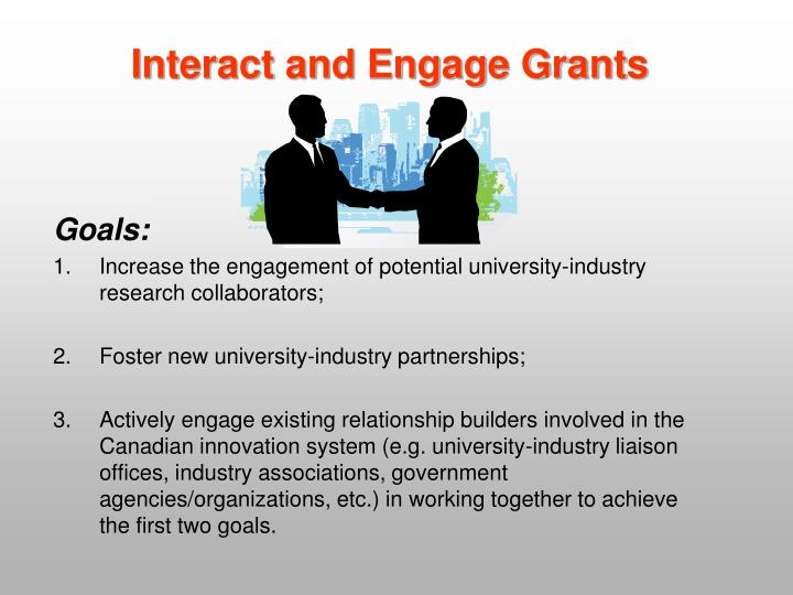 Interact and Engage Grants