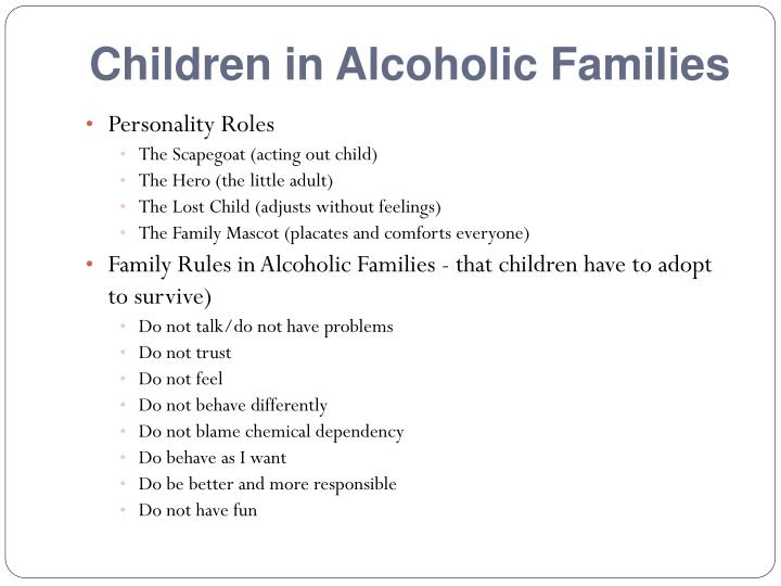 Children in Alcoholic Families