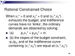 rational constrained choice12