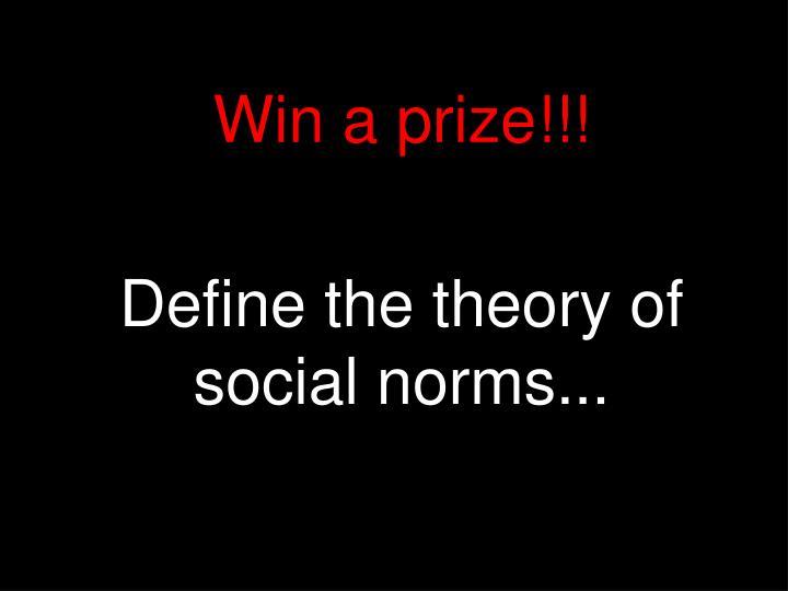Win a prize!!!