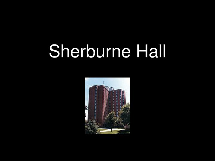 Sherburne Hall