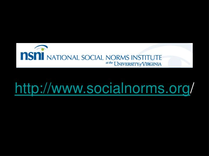 http://www.socialnorms.org
