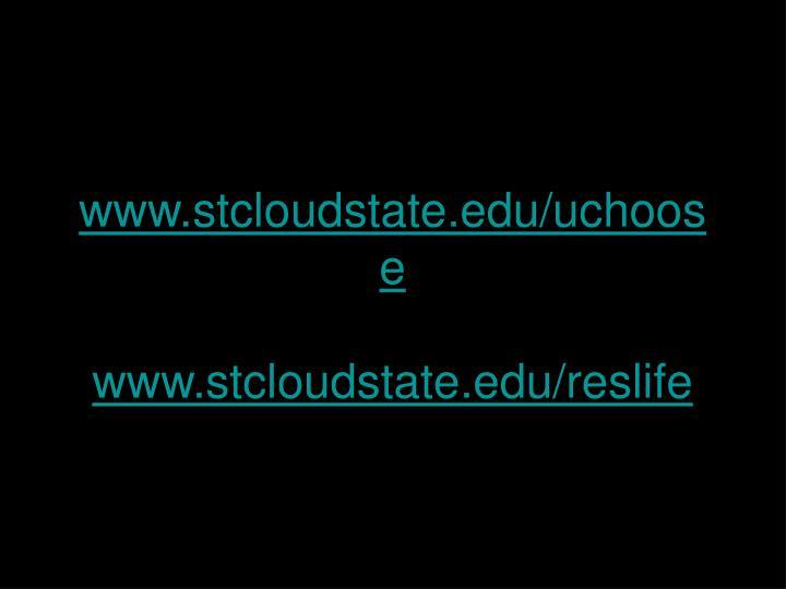 www.stcloudstate.edu/uchoose