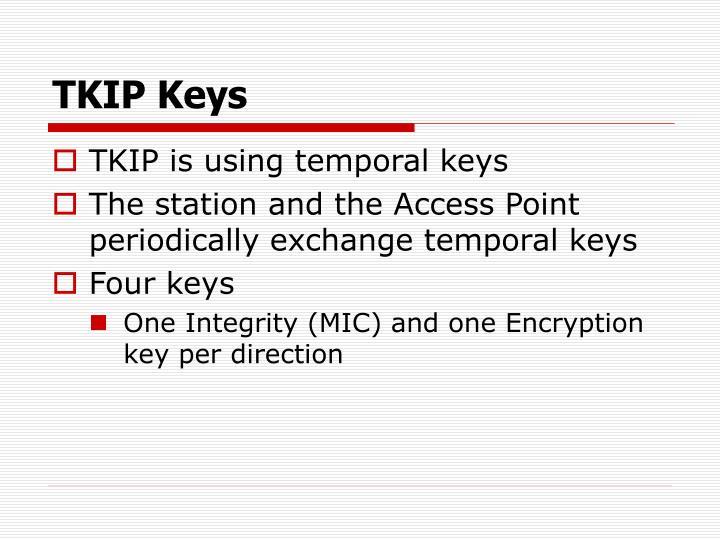 TKIP Keys