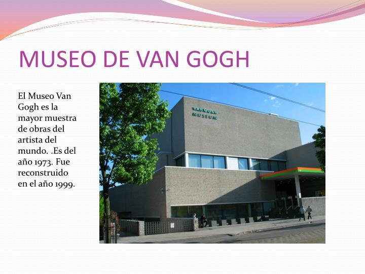 MUSEO DE VAN GOGH