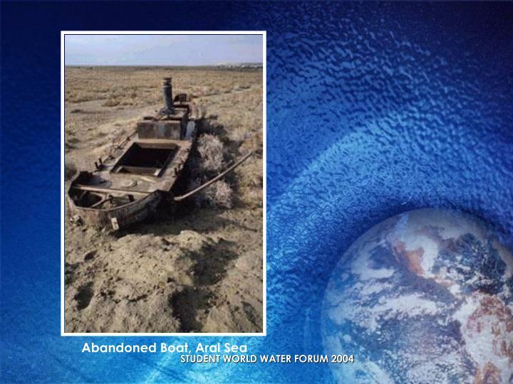 Abandoned Boat, Aral Sea