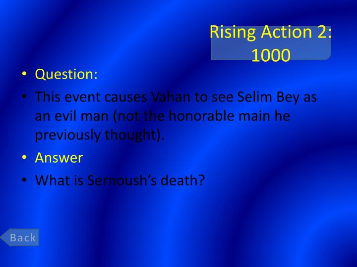 Rising Action 2: 1000