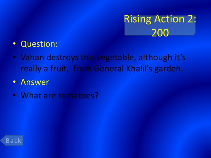 Rising Action 2: 200