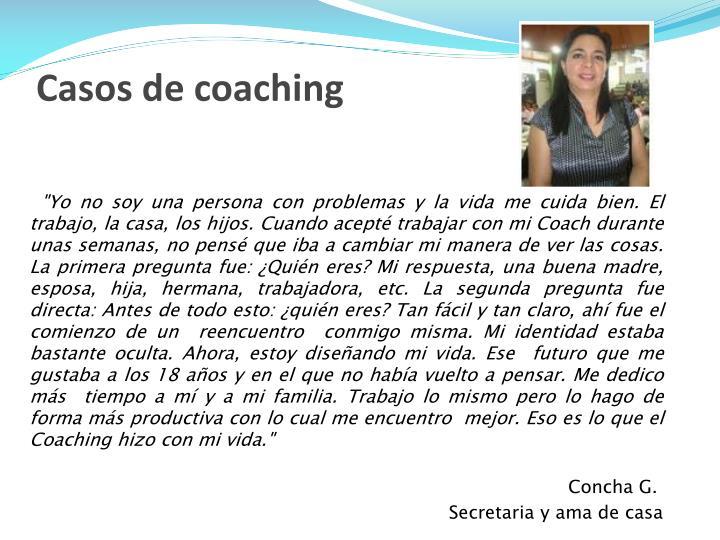 Casos de coaching