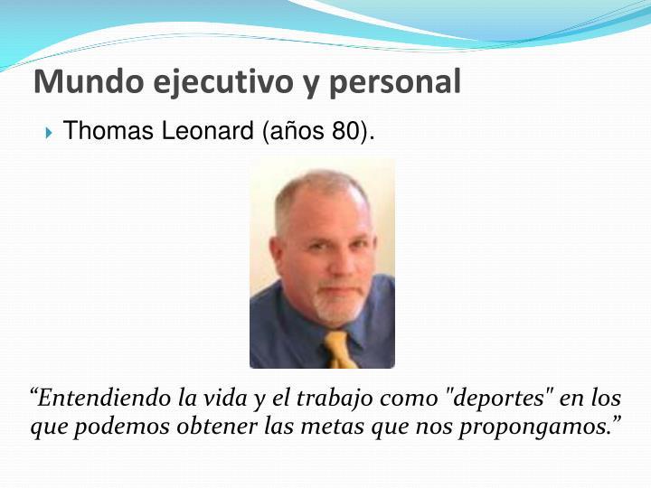Mundo ejecutivo y personal