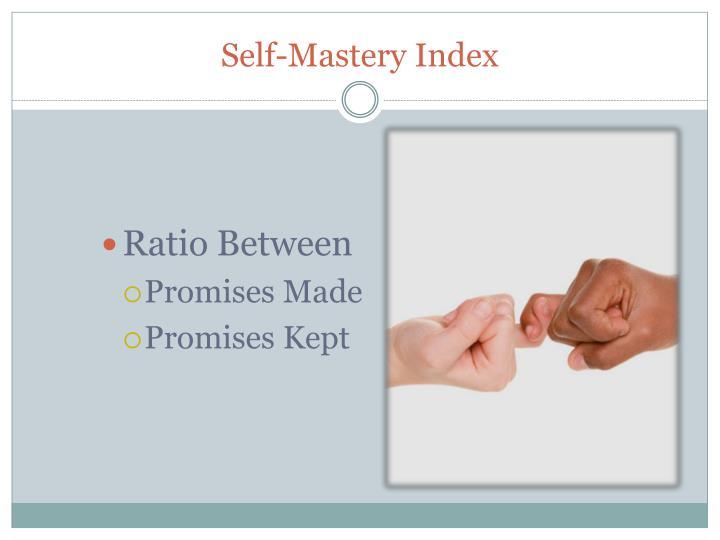 Self-Mastery Index
