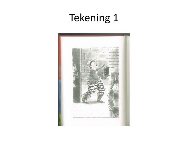 Tekening 1