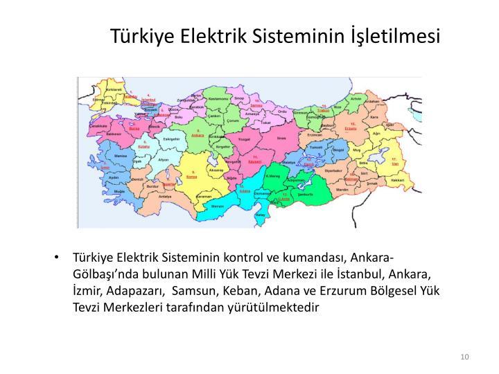 Türkiye Elektrik Sisteminin İşletilmesi