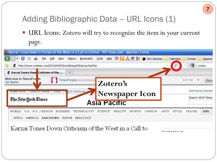 URL Icons: