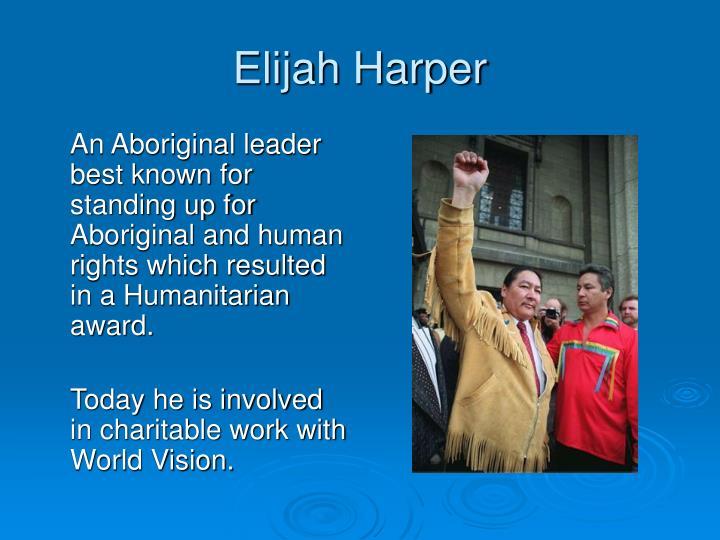Elijah Harper