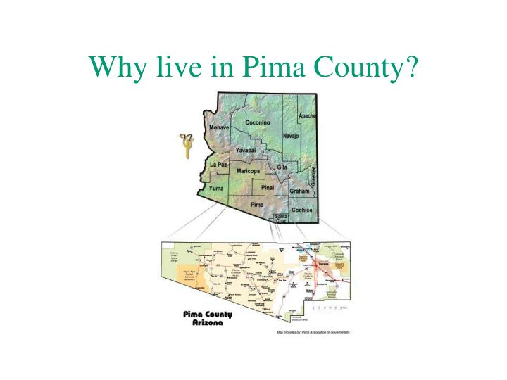 Why live in Pima County?