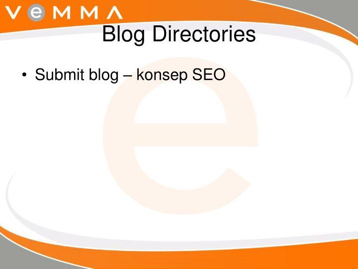 Blog Directories