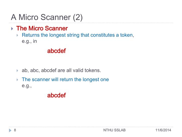 A Micro Scanner (2)